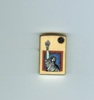Zippo Brushed Brass Liberty lighter (204BBSM703)