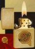 Zippo Sturdy Chrysler Logo Dust Lighter 20754