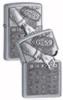 Zippo Bingo Street Chrome Lighter 207BSB229