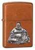 Buddha Emblem Toffee Windproof Lighter Z21195