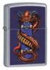 Zippo SKATE DRAGON STREET CHROME - 21215