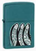 Zippo THE 3 SISTERS TEAL MATTE - 215CW291