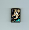 Zippo Man Woman Billiard Pool Romantic Lighter