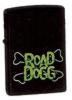Zippo BLACK MATTE ROAD DOGG - 218WWF702