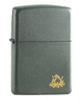 Zippo 223 219 Campfire Ash Grey Matte Lighter