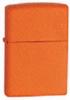 The Zippo Orange Matte 231