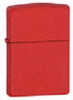 Z233 Red Matte Windproof Lighter Lifetime Guarantee