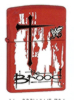 Zippo RED MATTE THE BROOD - 233WWF704