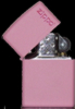 Pink Matte ZLogo lighter 238L Lifetime Warranty