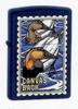 Zippo NAVY MATTE CANVAS BACK - 239BSB219