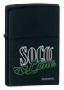 Zippo Southern Comfort Lime 24099 Matte Black