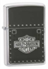 Zippo HD saddle bag emblem lighter (model 24168)