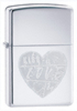 Zippo �For The Love Of Chrome� Lighter (Model 24198)