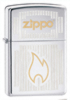 Zippo Chrome Vision lighter (model 24206)