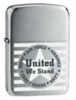 Zippo United We Stand lighter (model 24297)