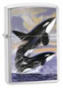 Zippo Killer Whales Guy Harvey Lighter (Model 24305)