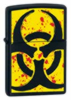 Zippo Hazardous Black matte lighter (model 24330)