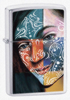 Zippo 200 BS Face Painting Girl Lighter 24404