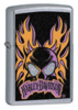 Zippo Harley Davidson Street Chrome Flame Skull Lighter