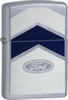 Zippo Ford Street chrome lighter (model 24547)