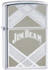 Zippo Jim Beam high polish chrome lighter 24550