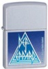 Zippo DEF LEPPARD SATIN CHROME - 24566