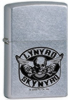 The Zippo Lynard Skynard street chrome lighter