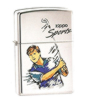 Zippo High Polish Chrome Golf Lighter Z250GLF