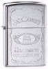 Zippo Jack Daniels Silhouette Chrome Lighter 250JD324