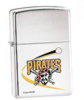 High Polished Chrome Pittsburgh Pirates Zippo #250MLB185