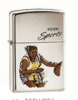 High Polished Chrome Womens Basketball Zippo #250WBSK