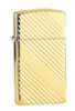 Zippo Stylish 3100 Gold Plated Classic Slim Lighter