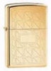 Zippo High Polished Brass Geometrics Lighter 593RG