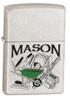 Satin Chrome Mason Zippo #723