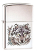 High Polished Chrome Wolf Zippo #758