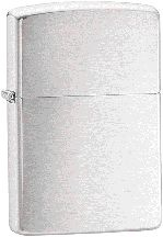 The Zippo Brushed Chrome lighter ZO10003