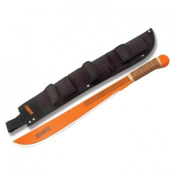 Marbles Orange Machete Wood Handle MA127-18MC