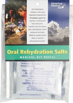 Adventure Medical Oral Rehydration Salts Refill outdoor gear AD0650