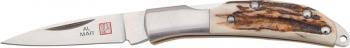 Al Mar Osprey Folder Front LockGenuine Stag Handle AM1001S