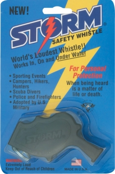 All Weather Storm Safety Whistle storm whistles AW1BK