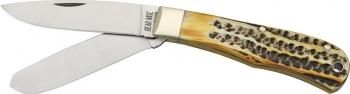 Bear & Son Jumbo Trapper Pocket Knife twin blades