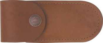 Case Soft Leather Brown Belt Sheath Up to 4 inch CA50003
