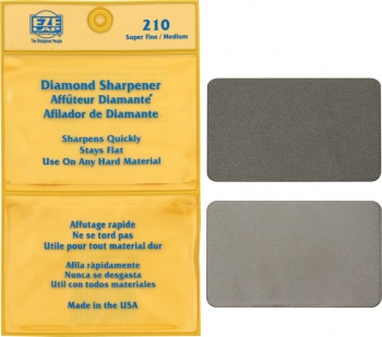 Eze-Lap Diamond Wallet Sharpener sharpeners EZL210