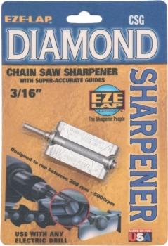 Eze-Lap Diamond Chain Saw Sharpener sharpeners EZLCSG316