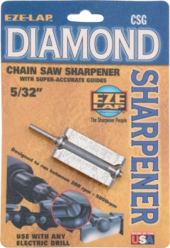 Eze-Lap Diamond Chain Saw Sharpener sharpeners EZLCSG532