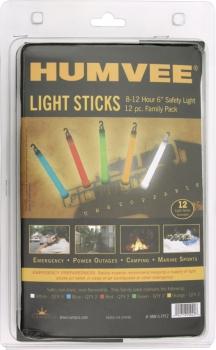 Humvee Safety Light Sticks 12 Pack outdoor gear HMV6FP12