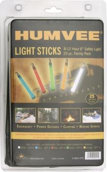 Humvee Safety Light Sticks 25 Pack outdoor gear HMV6FP25