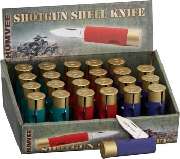 Humvee Shotgun Shell Knives 24 Piece outdoor gear HMVDBSHOT