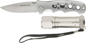 Humvee Utility Knife/led Light Combo outdoor gear HMVKC3GRY