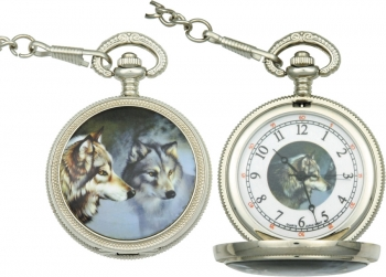 Infinity Wolf Pocket Watch watches IW47